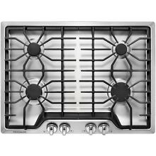 Frigidaire FFGC3026SS 30  Gas Sealed Burner Style Cooktop with 4 Burners  ADA