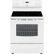 Kenmore 94172 5 3 cu  ft  Self Clean Electric Range in White  includes delive