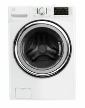 Kenmore 41302 4 5 cu ft  Front Load Washer with Steam and Accela Wash in Whit