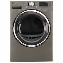 Kenmore 81383 7 4 cu  ft  Electric Dryer in Stainless Steel  includes deliver