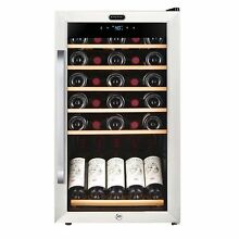Whynter FWC 341TS 34 Bottle Freestanding Wine Refrigerator with Display Shelf