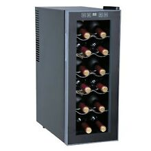 Sunpentown WC 1271 ThermoElectric 12 Bottle Slim Wine Cooler 12 BOTTLES