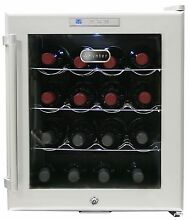 Whynter WC 16S SNO 16 Bottle Wine Cooler  Platinum with Lock