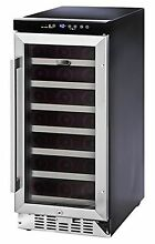 Whynter BWR 33SA 33 Bottle Built In Wine Refrigerator  Stainless Steel