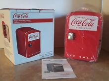 Coca Cola Koolatron Retro Mini Fridge Beverage Cooler  Dorm Boat Man Cave