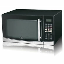 BRAND NEW Oster 1 3 Cu Ft  1100 Watts Microwave Oven   Grill Function OGB61303G