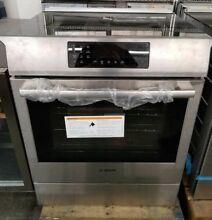 NEW OUT OF BOX BOSCH BENCHMARK 30  SLIDE IN INDUCTION RANGE