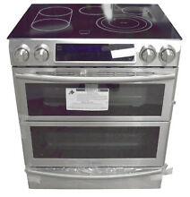 Samsung NE58K9850WS 30  Flex Duo Slide In Electric Range