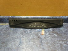 MAYTAG DISHWASHER CONTROL PANEL BLACK PART  6 919833