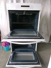 GE Profile 30  Built In Double Electric Convection Thermal Wall Oven White