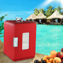 Mini Portable 15L Travel Car Fridge 12V Cooler Warmer Electric Camp Can Holder