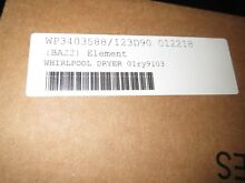 WP3403588 Whirlpool Dryer Heater Element WP3403588 PS346449
