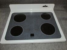 WB62X5468 GE RANGE OVEN MAIN TOP GLASS COOKTOP WHITE