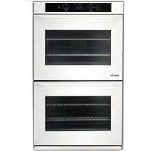 Dacor Distinctive 30 Inch White Double Convection Electric Wall Oven DTO230W NEW