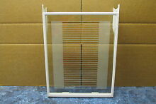 GE REFRIGERATOR GLASS SHELF PART   WR32X10010