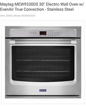NEW Maytag MEW9530DS 30  Electric Wall Oven   FREE SHIPPING