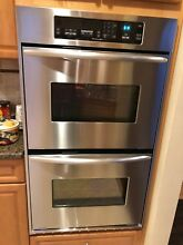 Wall oven built in stainless dual