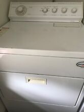 PREOWNED GE SUPER CAPACITY WASHER   WHIRLPOOL HEAVY DUTY DRYER PAIR
