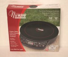 NEW NuWave Precision Induction Cooktop Model   30121 Ceramic Glass 1300 Watts