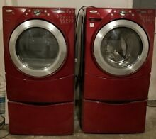 Make Offer   WOW  DUET WHirlpool Washer and Dryer Set