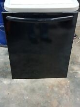 Frigidaire Dishwasher Front Door Panel Black Free shipping