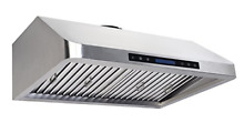Cycene 30 Inch Professional Series Under Cabinet Stainless Steel Range Hood