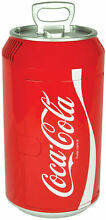 Coca Cola Can Mini Fridge in Red