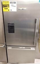 FISHER PAYKEL STAINLESS STEEL REFRIGERATOR BOTTOM FREEZER LEFT HINGE