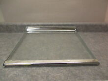 HOTPOINT REFRIGERATOR GLASS SHELF PART   WR71X6008