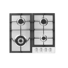 Fisher Paykel CG244LWFX1 24  Stainless Drop in LP Gas Cooktop