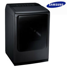 Free Shipping Big Sale  New SAMSUNG DV50K8600GV 7 4 cu  ft  GAS Dryer with Steam