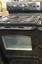 Cook stove Black GE self cleaning
