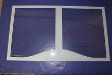 GE REFRIGERATOR GLASS SHELF PART  WR32X10468