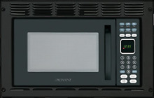 Advent MW912BWDK Black Built in Microwave Oven with Wide Trim Kit PMWTRIM  Built