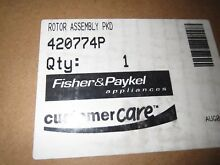 420774P Factory Original Fisher   Paykel Washer Rotor