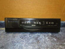 KENMORE DISHWASHER CONTROL PANEL BLACK PART  8557776