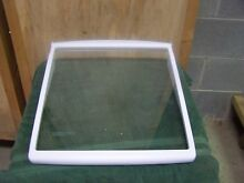 Maytag Whirlpool Refrigerator Slide Out Glass Shelf  15 x 16  12883507