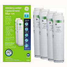4Pack GE SmartWater FQSVF GXSV65R Dual Stage Twist   Lock Fridge Water Filter