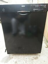 Bosch SHE3AR76UC 24  Built In Dishwasher   Black