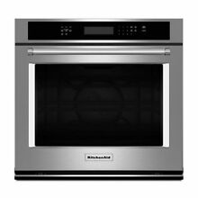 KitchenAid KOSE507ESS 27  Stainless Steel Electric Wall Oven With Convection