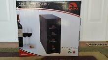 Igloo Vertical 4 Bottle Wine Cooler Fridge