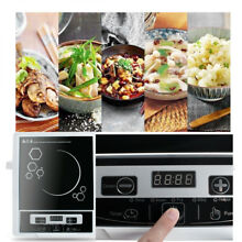 usa 2000W 110V Digital Electric Induction Cooktop Countertop Burner Cooker