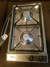 Miele KM 83   1  Cooktop Stainless Steel 2 Burner New