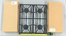 Brand New in Box 2  Dacor 72433SB Cast Iron Grate Sets with 4 Burner Caps