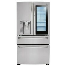 LG Instaview French Door Refrigerator 29 7 Cu  Ft  LMXS30796S   Stainless Steel
