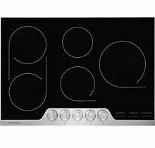 NEW Frigidaire FPEC3077RF 30  Stainless Steel Electric 5 Burner Cooktop Range