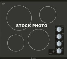 BOSCH 500 SERIES 24  ELECTRIC COOKTOP BLACK