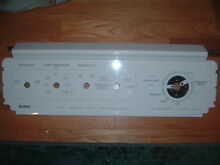 KENMORE 80 SERIES WASHER FACE CONTROL PANEL WHITE PART 3953338 USED