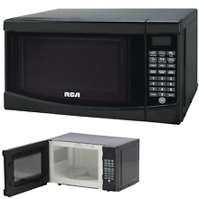 Microwave Oven Countertop Compact Kitchen Home Dorm Child Lock 0 7 Cu Ft Black