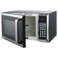 Hamilton Beach 0 9 cu ft  Microwave Oven  Stainless Steel NEW